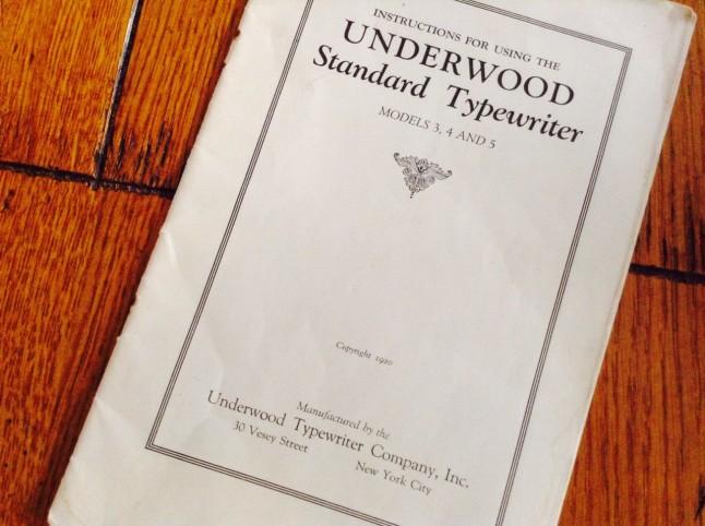 UnderwoodServiceManual