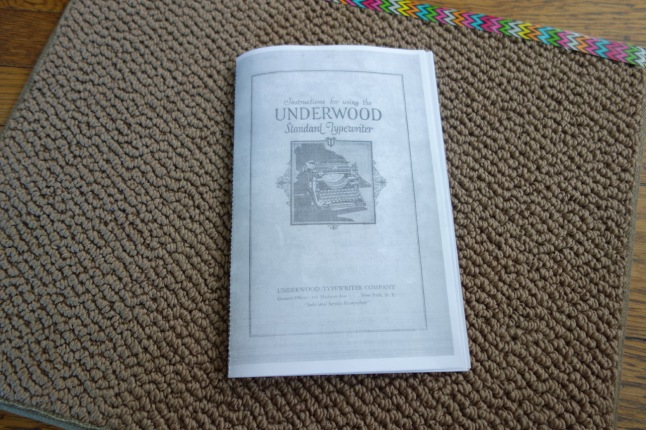 Underwood345UsersManual