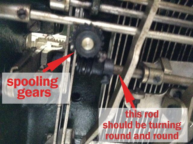 spooling gears