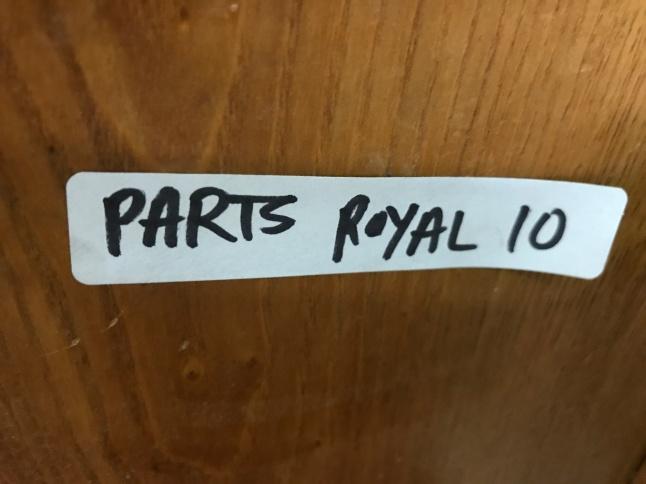 Parts Royal 10